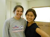 Charlotte Cosgrove '13 and Alexandra Arenson '13.
