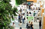 Students present their summer research in poster sessions in theTaylor Science Center and in KJ Commons.