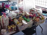 Unopened food collected through Cram-and-Scram will be donated to Clark Mills Food Pantry.