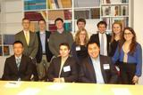 Hamilton Program in Washington, D.C., students with Ted Piccone of the Brookings Institution.