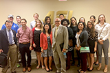 Professor of Government Rob Martin and Program in Washington students with Norm Ornstein at the American Enterprise Institute.