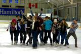A cappella group Duelly Noted performed after the men's hockey game on Jan. 21.