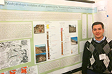 Felipe Ramirez '15 at the 50th Annual Meeting of the Geological Society of America – Northeastern Section.