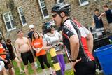 Participants gather at the end of HamTrek.