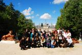 HCAYS students visit the Royal Gardens of La Granja.