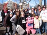 Members of Hamilton's 2010 Heart Run & Walk team.