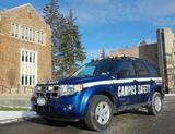 Campus Safety's new Ford Escape hybrid.