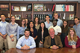 Hamilton Program in Washington students with Mike McCurry P'13 at Public Strategies Washington.