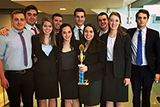 The Mock Trial team after the Penn State competition.