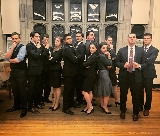 Members of the Mock Trial team competed at Yale University.