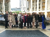 New York City Program participants visited the Metropolitan opera on April 29.