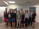 Hamilton students in the New York City Program with Rich Bernstein '80 and Prof. Derek Jones.