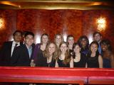 NY Program students at the Metropolitan Opera.