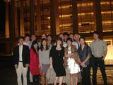 Hamilton Program in New York students at Lincoln Center on Sept. 29.