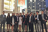 Hamilton's Fall 2015 Program in New York City students at Lincoln Center.