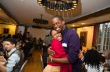 Boston Posse scholars Leide Cabral '11 and Adrian Ntwatwa '12.