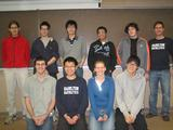 Members of Hamilton's Mathletics team took part in the Putnam Competition.