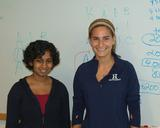 Ramya Ramnath '13 and Sarah Ohanesian '14