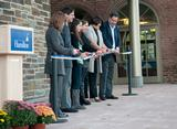 Members of the  Sadove family were on hand for the dedication of the Sadove Student Center at Emerson Hall.
