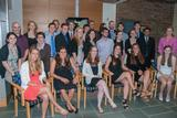 Sigma Xi initiated 24 members of the Class of 2014 and three faculty members on May 23.