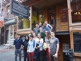 New York Program students at the Tenement Museum on New York's Lower East Side.