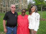 The 2015 Tobin Award winners Norm Bramley, Phyllis Breland '80 and Terry Lapinski.