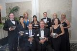 John Werner '92, back row center, was honored by the Boston Jaycees.