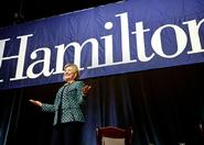 Hillary Clinton's visit to Hamilton in October drew much attention from the media.