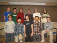 Members of the 2012-13 Mathletics team.