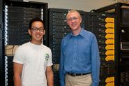 Sam Cho '10 and Adam Van Wynsberghe