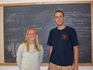 Caroline Pierce '10 and Brian Milstone '10