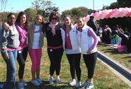 Hamilton Washington program students participated in the Making Strides for Breast Cancer Walk.