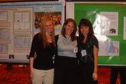 Geoscience seniors Lisa Feuerstein, Leila Malcom and Megan Fung in Baltimore.