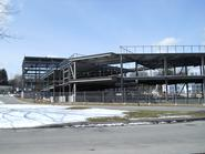 Construction progress on March 27, 2013.