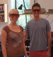Sarah Fobes '12 and Zane Glauber '12