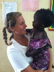 Hillary Kolodner '14 Interning at Senegal Community Center