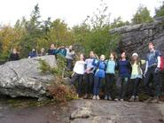 One of the HOC groups on Giant Mountain.
