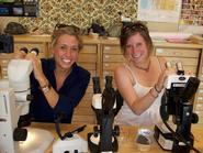 Allie Hutchison '10 and Lisa Feuerstein '10
