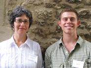 Professor Naomi Guttman and Max Wall '10.