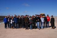 Professor Katheryn Doran's Environmental Ethics class at the Madison County landfill