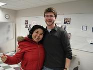 Matt Arnold '09 with ESOL student
