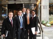 (L-R) Paul Englehardt, Garvin Sean Kiernan, Adam Vorchheimer, Andrew Rogan and Fallon Chipidza