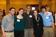 Seniors Daniel Feinberg, Dilyana Mihalova, Lucas Harris, Bethany O'Meara and Dan Bruzzese.
