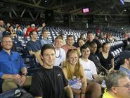 Program in Washington students enjoy a Washington Nationals game.