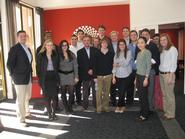 Washington Program students with Tim Nussbaum '07 (left).