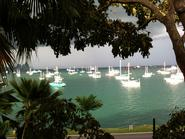 A view of Panama Bay from Naos Lab