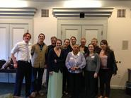 Classics students and faculty at the 8th annual Parilia conference.