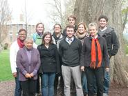 Classics students and faculty who attended Parilia.