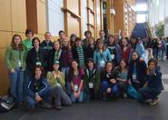 Hamilton Power Shift 2009  group in the Washington Convention Center.