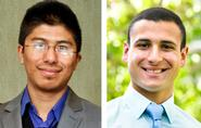 Ujjwal Pradhan '15 and Nick Solano '14